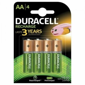 DURACELL Recharges Plus...